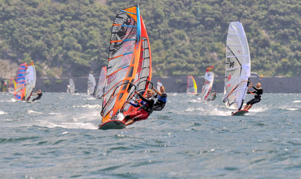 Windsurf and sailing